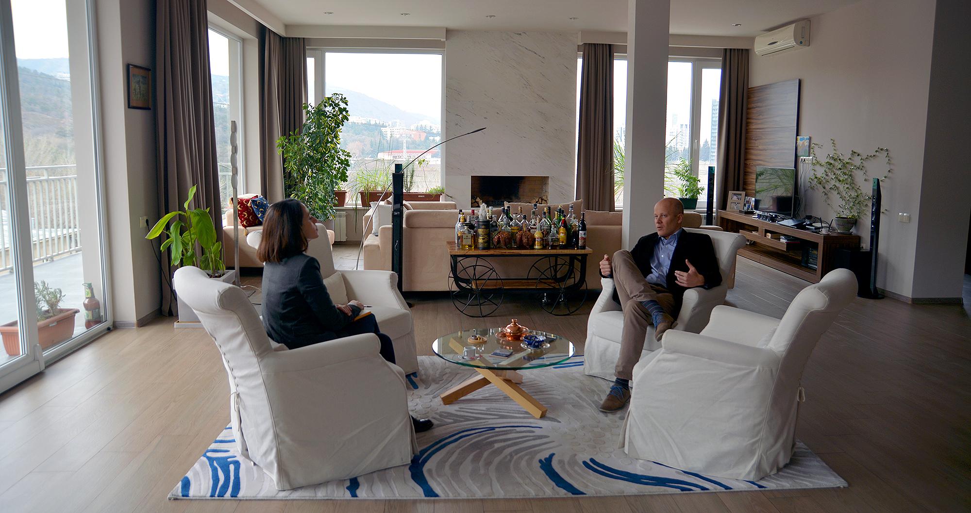 Посольство Словацкой Республики в Грузии - невероятно уютное место (фото: sova.news)