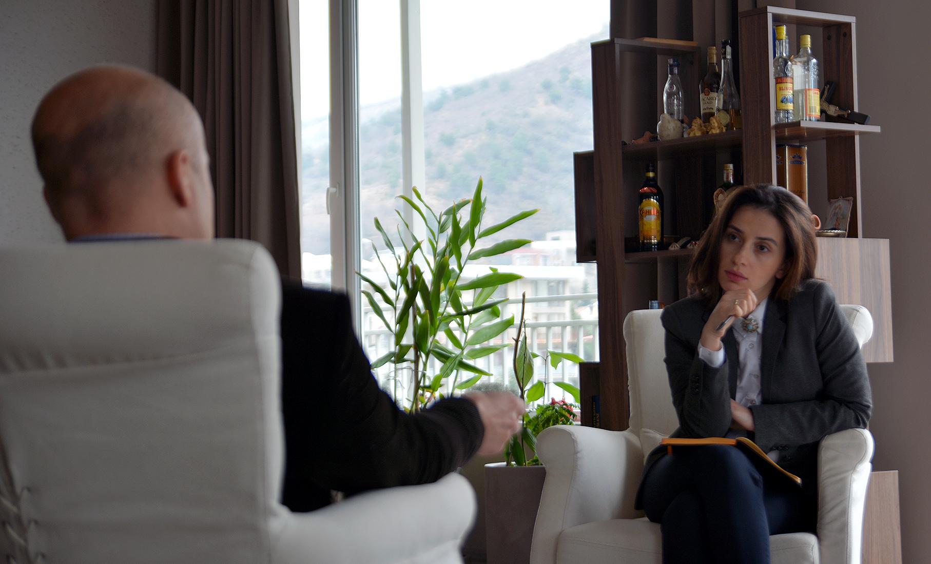 Разговор с Рудольфом Михалка получился неформальным (фото: sova.news)