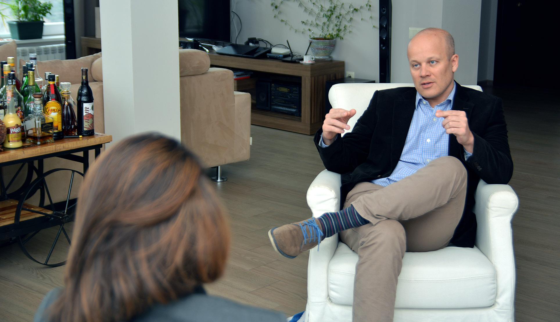 Рудольф Михалка. Посол Словацкой Республики в Грузии (фото: sova.news)