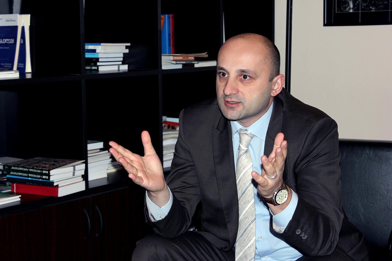 Леван Цуцкиридзе, представитель NIMD на Южном Кавказе