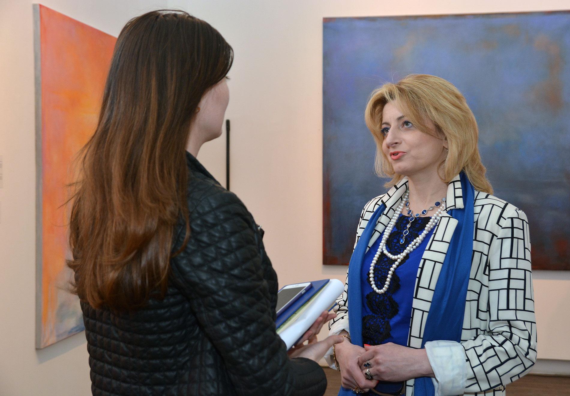Лела Цицуашвили, куратор выставок Национального музея Грузии (фото: sova.news)