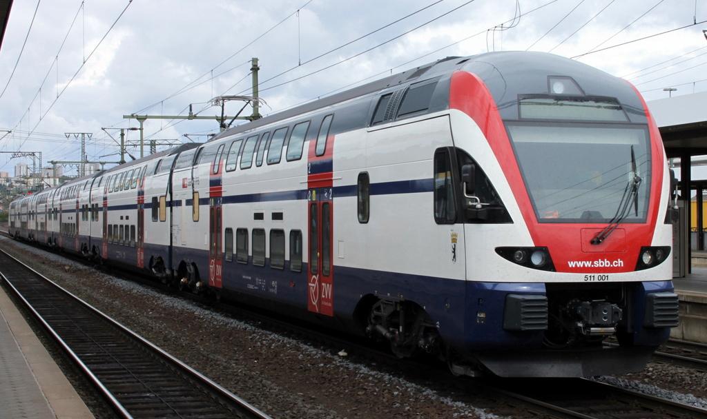 Грузия закупила швейцарские двухэтажные поезда