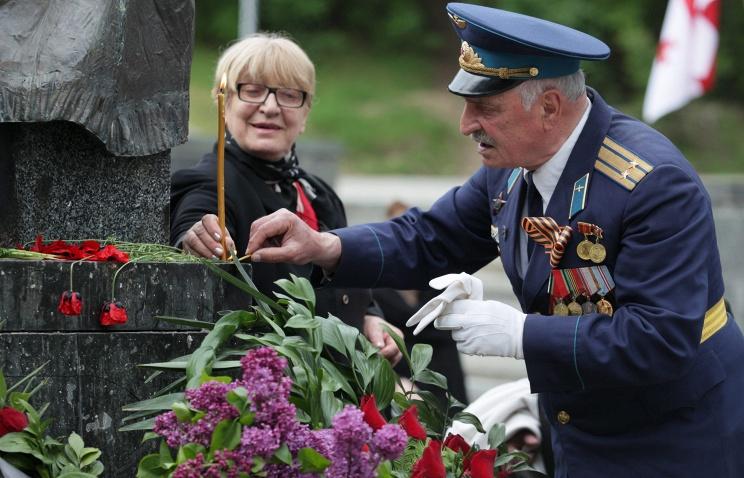 В Грузии празднуют День Победы