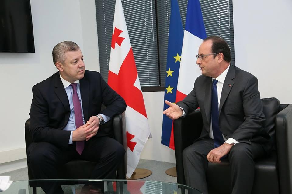 Франция поддерживает отмену визового режима для граждан Грузии