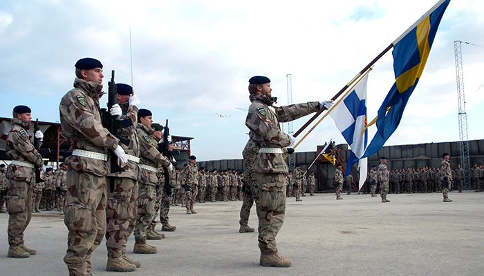 Солдаты НАТО впервые высадятся на территории Финляндии