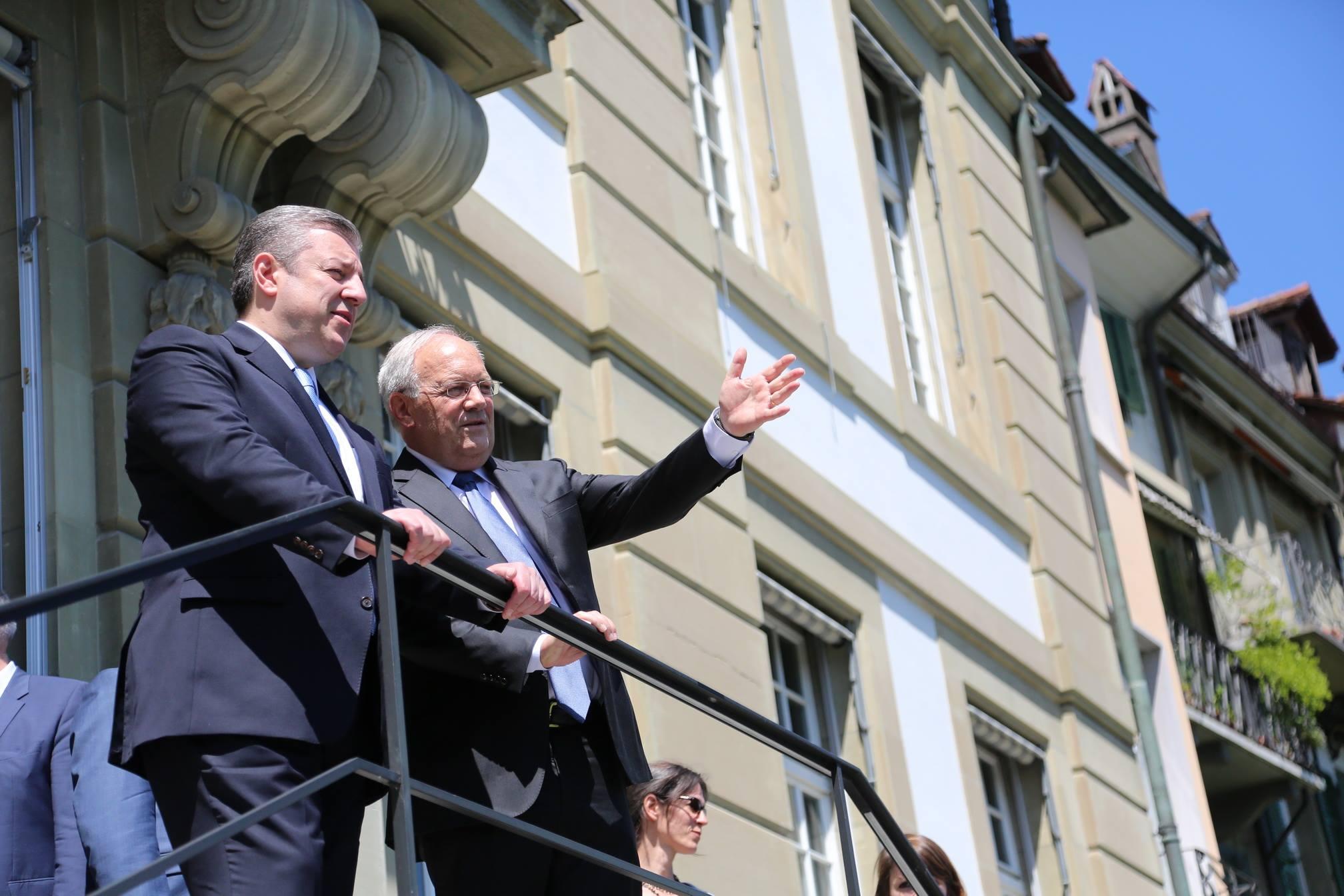 Швейцария готова содействовать улучшению отношений Грузии и России