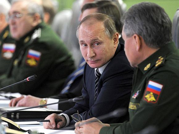Владимир Путин и Сергей Шойгу © Фото с сайта kremlin.ru