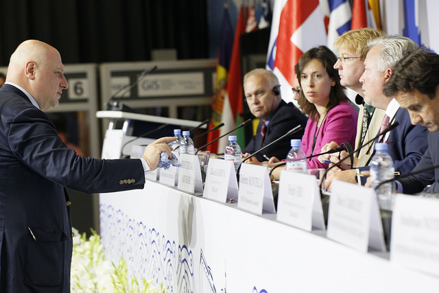 Грузинский оппозиционер не стал президентом ПА ОБСЕ