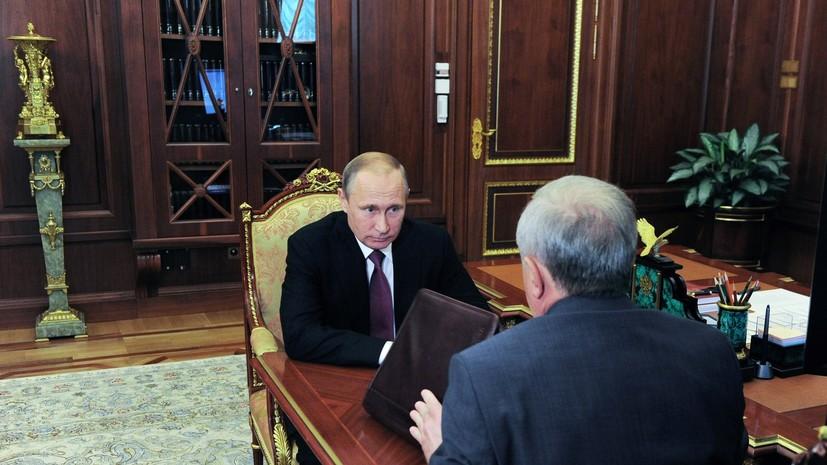 Владимир Путин подписал указ, о присоединении Крыма к Южному федеральному округу