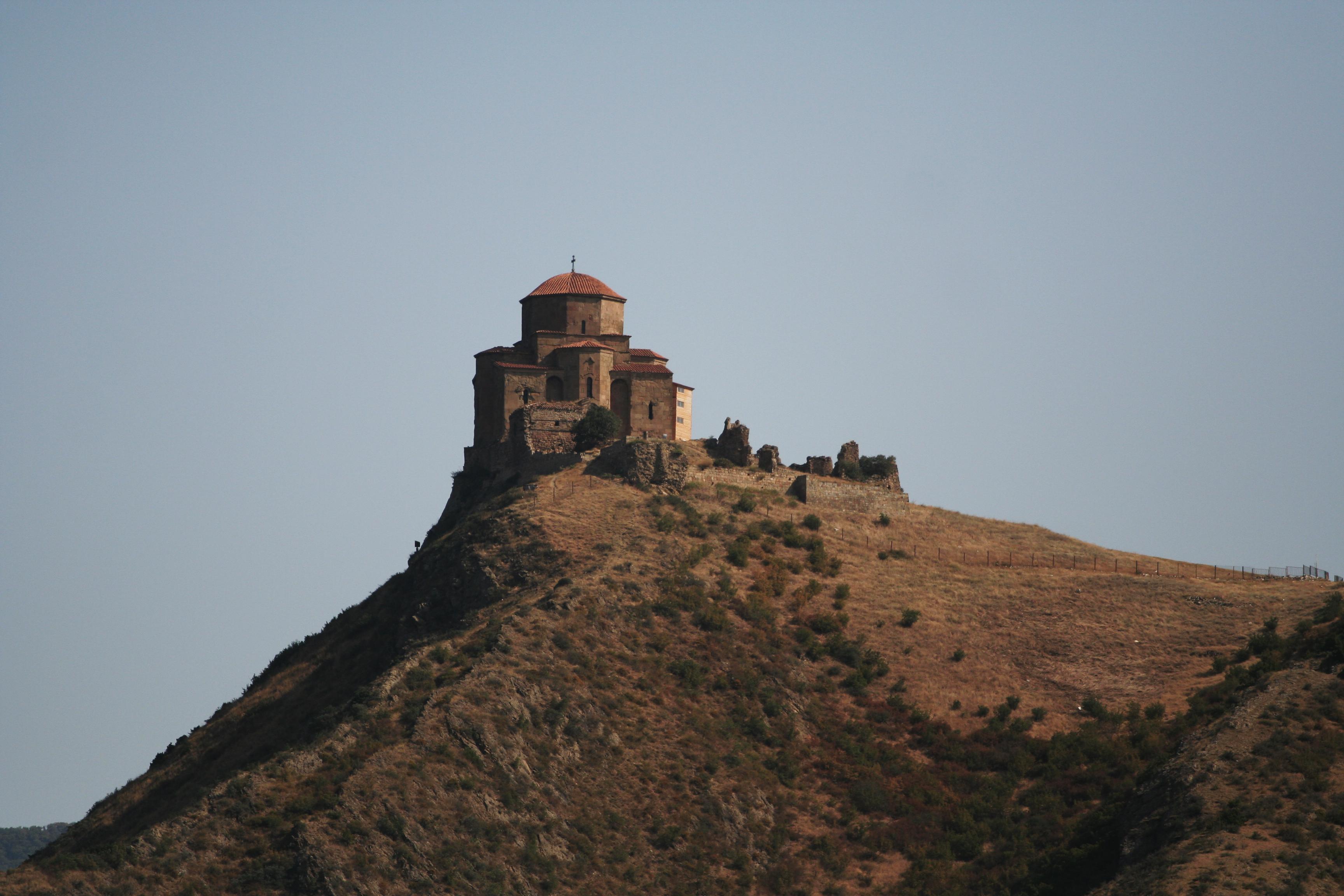 Jvari monastery outside Mtsketa Мцхета Мцхета