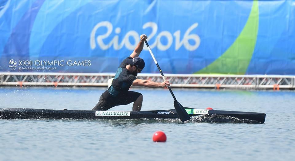 Заза Надирадзе сегодня выступит в финале Олимпиады 2016
