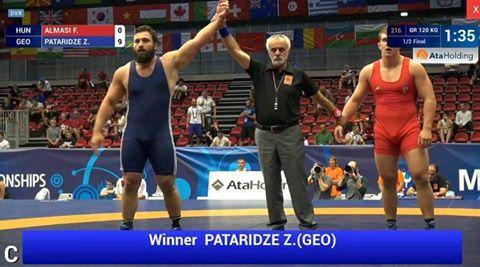 Грузинские борцы завоевали четыре золотые медали мирового чемпионата