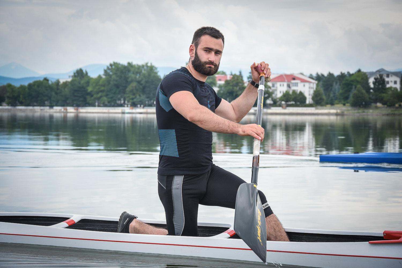 В финальном олимпийском поединке гребец Заза Надирадзе занял пятое место