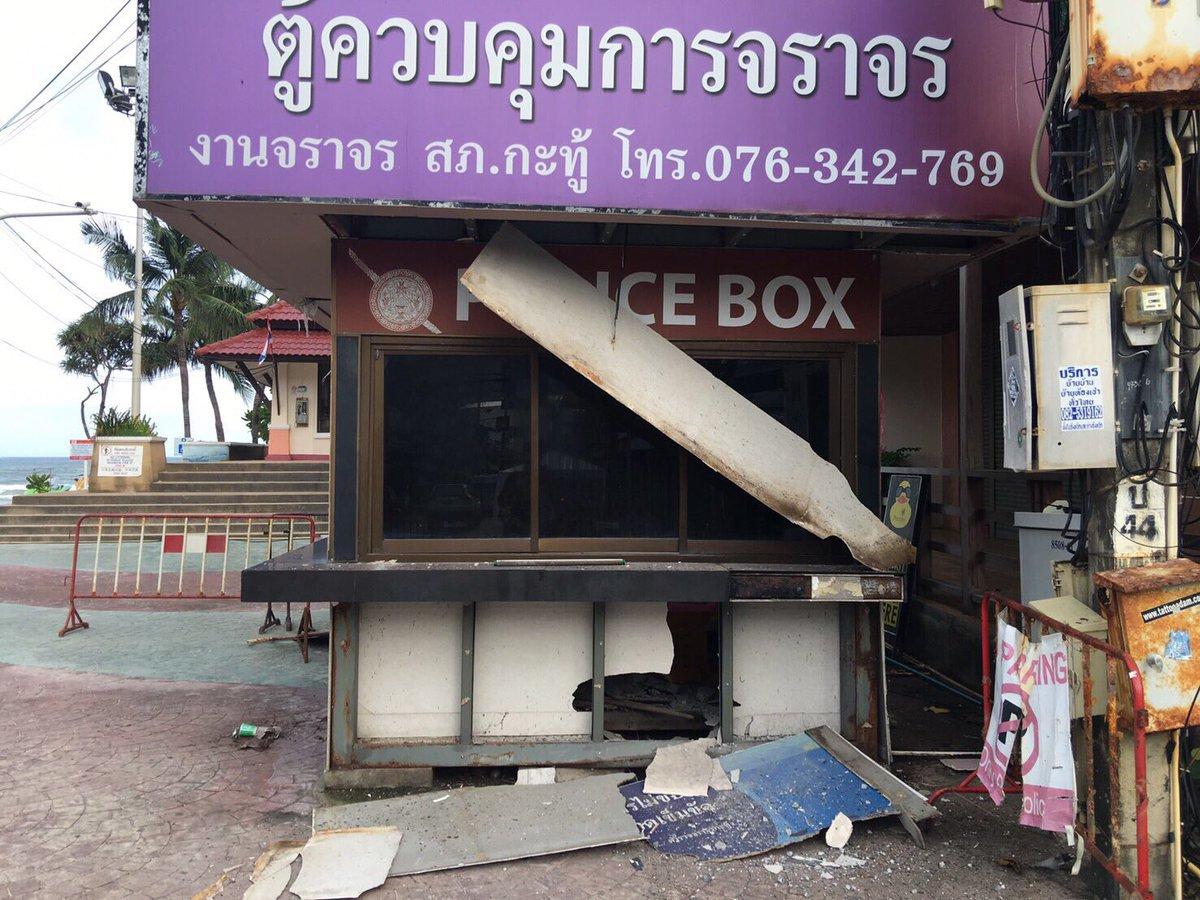 Курортную зону Таиланда сотрясла серия взрывов