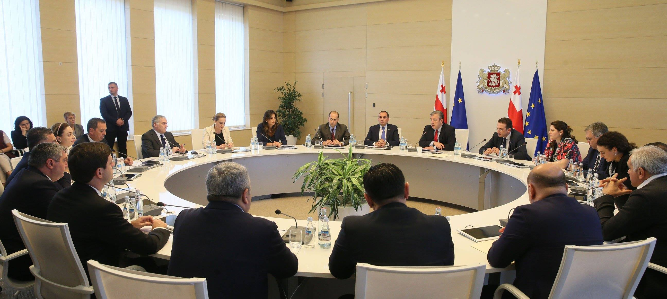 Кадровые перестановки в правительстве Грузии