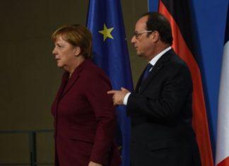 Лидеры Франции и ФРГ призвали президента России продлить паузу в бомбардировках Алеппо