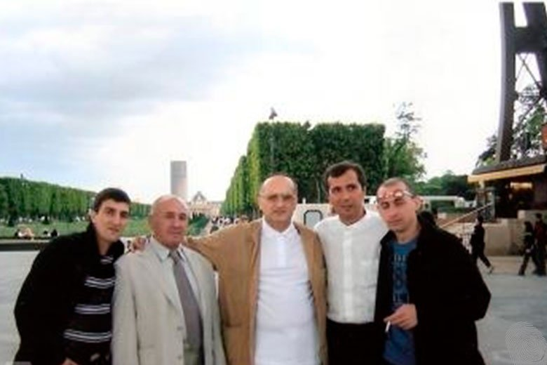 Кахабер Шушанашвили, Михаил Никурадзе, Давид Чхиквишвили, Мераб Джангвеладзе, Звиад Дарсадзе