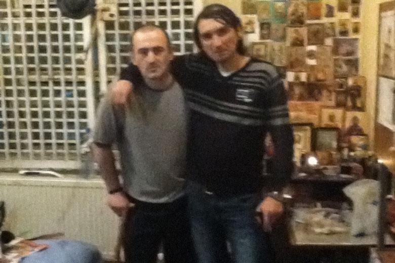 Спартак Джапаридзе (слева)