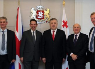 Великобритания поддерживает демократические преобразования в Грузии