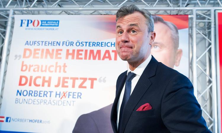 Пророссийский кандидат в президенты Австрии признал поражение
