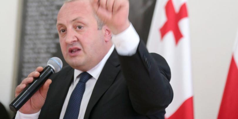Президент Грузии возмущен уничтоженим исторических объектов на оккупированных территориях