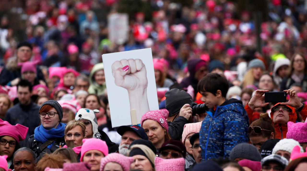 Женский марш на Вашингтон