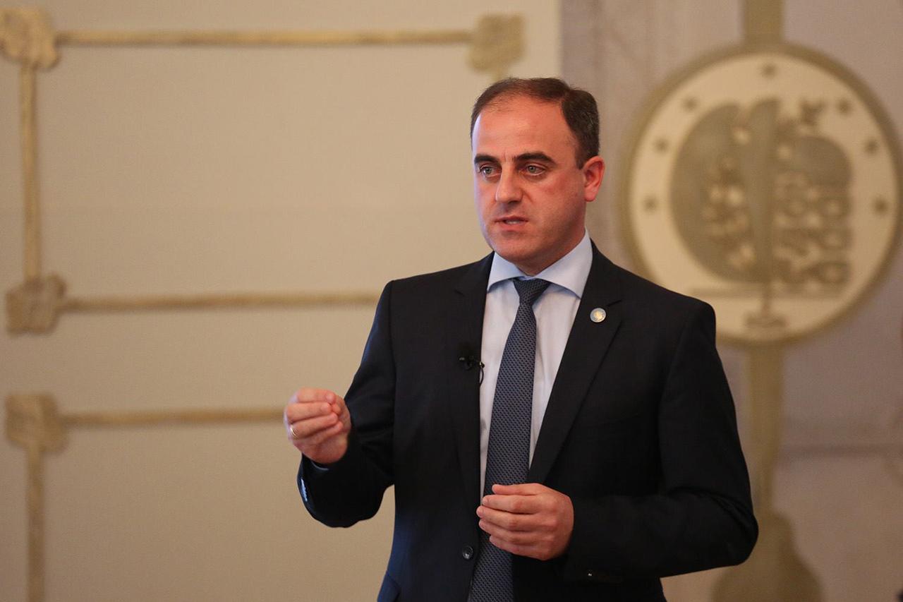 В Грузии проходит акция с требованием отставки мэра Тбилиси