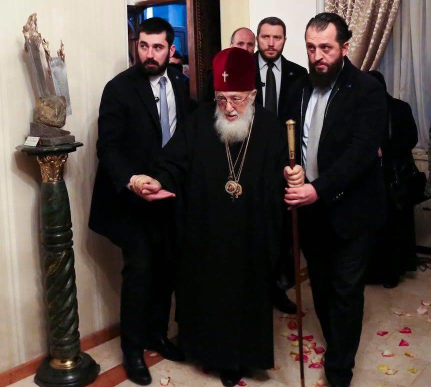 Католикос-Патриарх Всея Грузии вернулся на отчизну