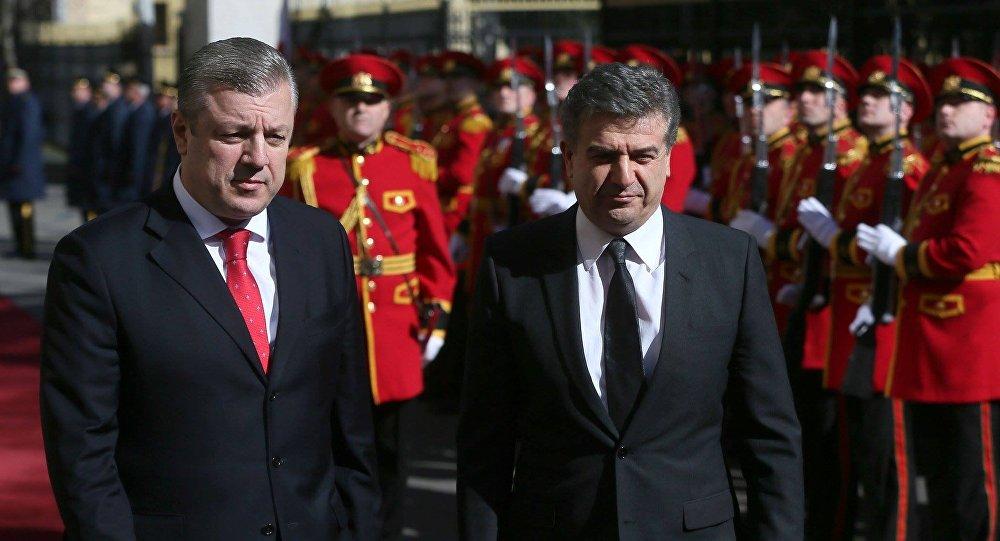 Премьер Армении завершил визит вГрузию