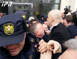8c2c20481ca8f62f0772817d67e18fb0 #новости акция протеста, мэрия Тбилиси, Нармания, Ника Мелия, Рустави-2, суд