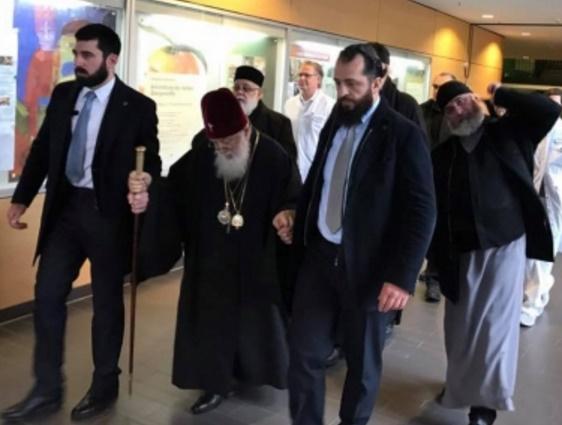 Патриарх ИлияII возвратится вГрузию вначале рабочей недели вечером