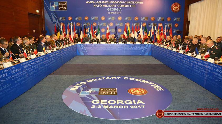 Военный комитет НАТО укрепляет связи сГрузией