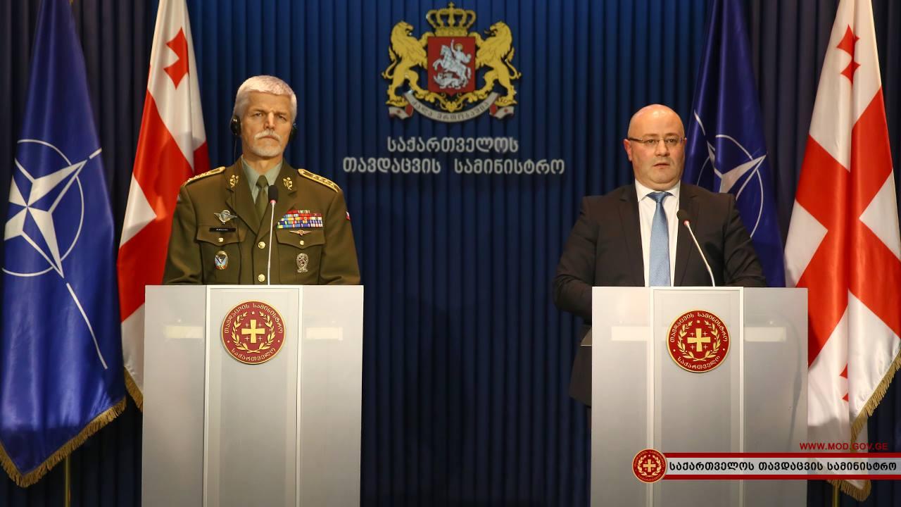 Военный комитет НАТО объявил  оподдержке территориальной целостности Грузии