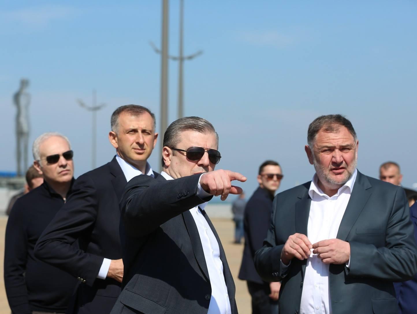 Премьер Грузии: мы прошли по очень опасной грани