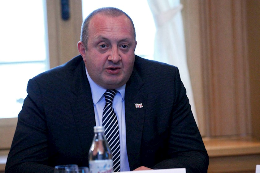 Георгий Маргвелашвили наложил вето назакон опрослушивании жителей
