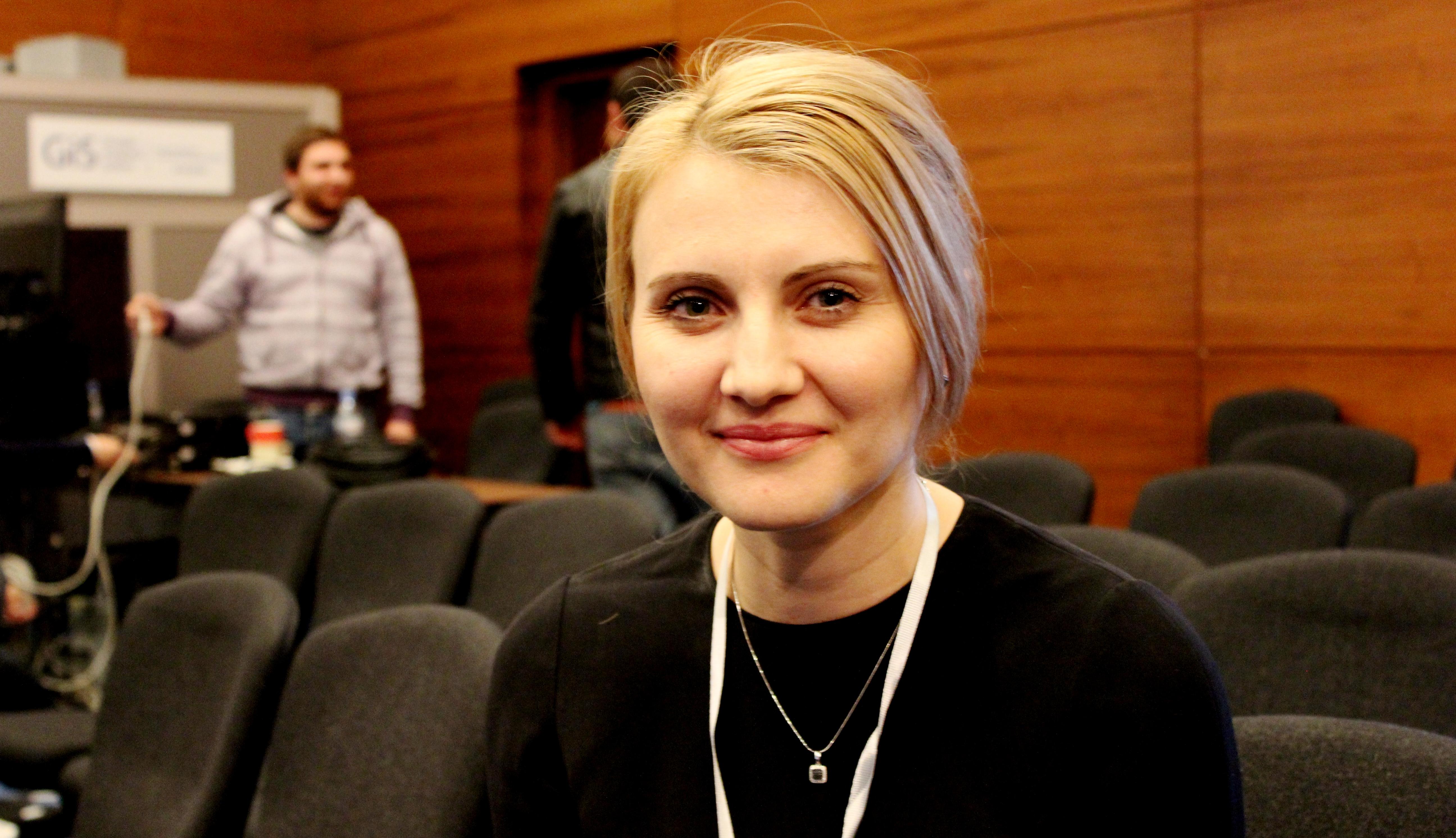 Елена Марзак, директор центра информирования и документирования НАТО в Молдове