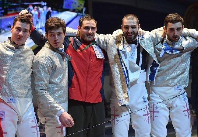 Грузинские фехтовальщики выиграли чемпионат Европы