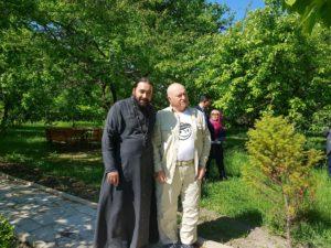 Юрий Лужков в Грузии