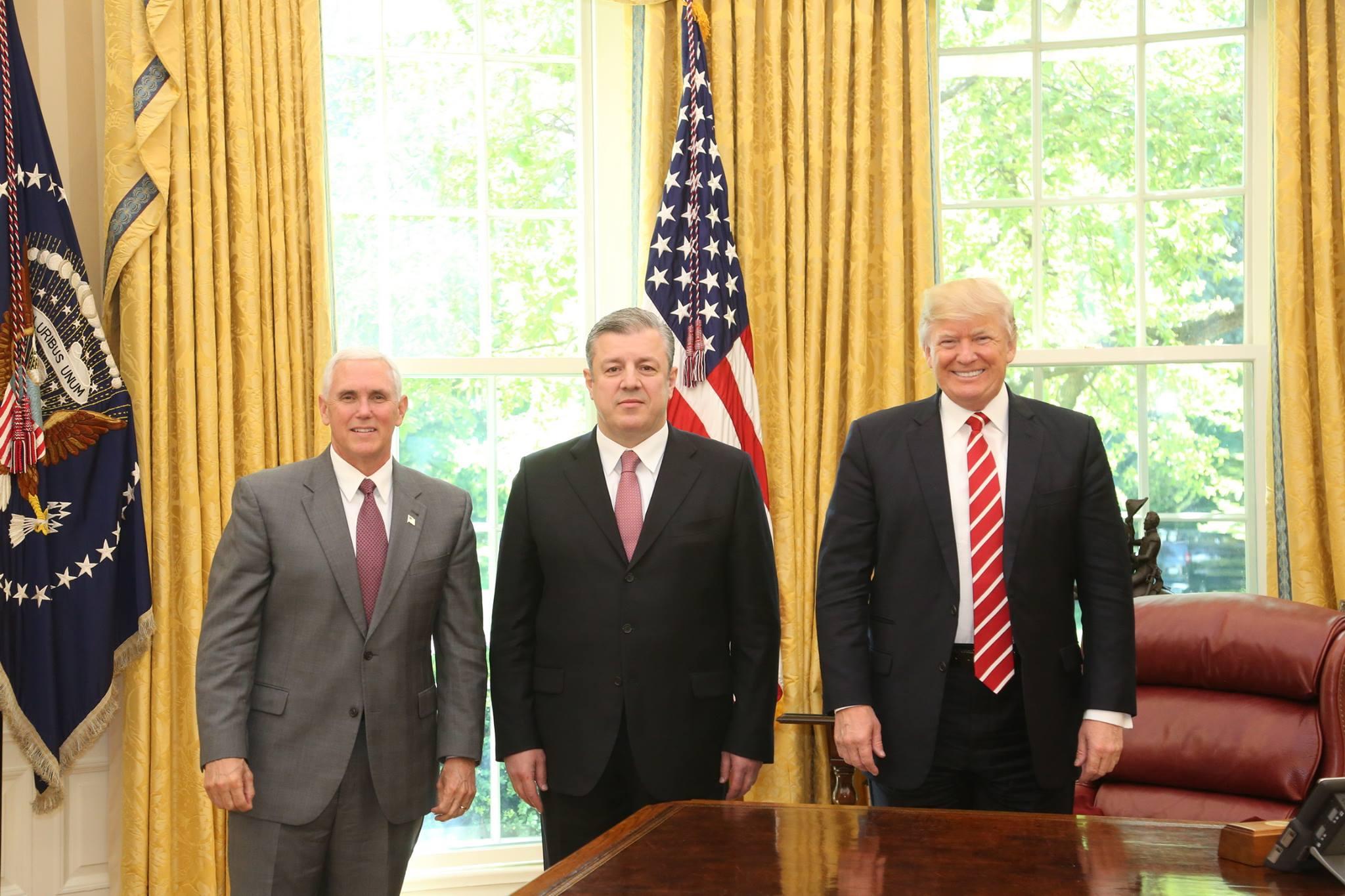 Трамп принял Квирикашвили в Белом доме