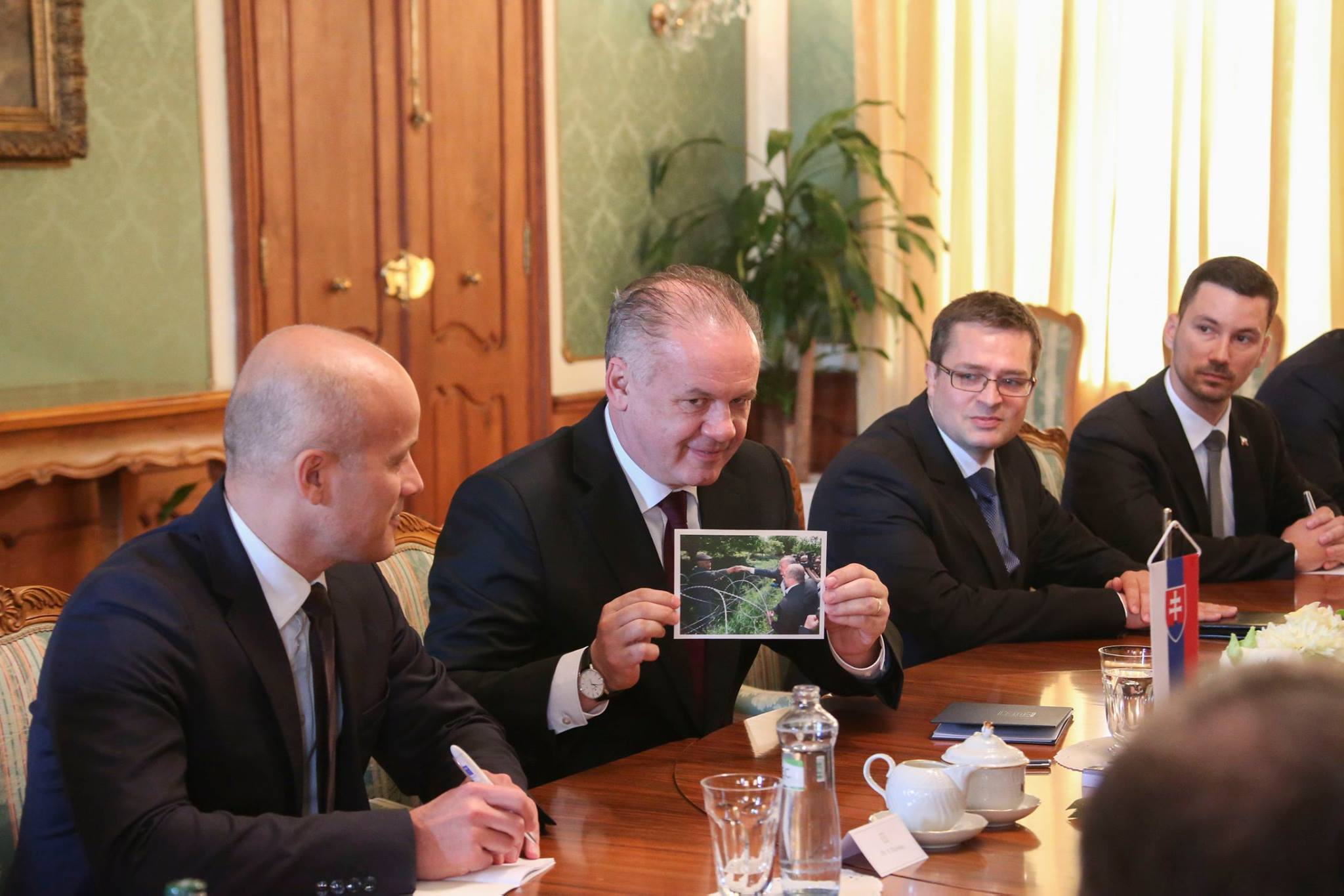 Грузия благодарит Словакию за поддержку