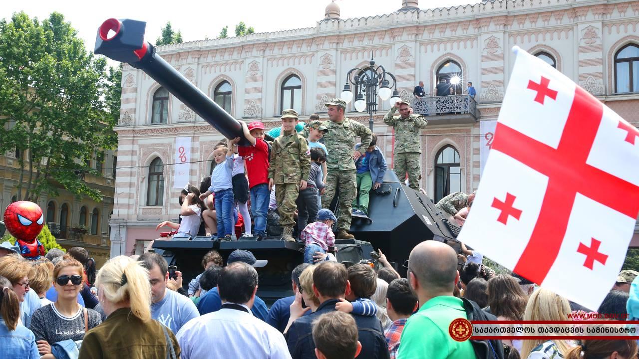 18671400 1597251316974271 5327194448934469553 o #новости Грузия, День Независимости, тбилиси
