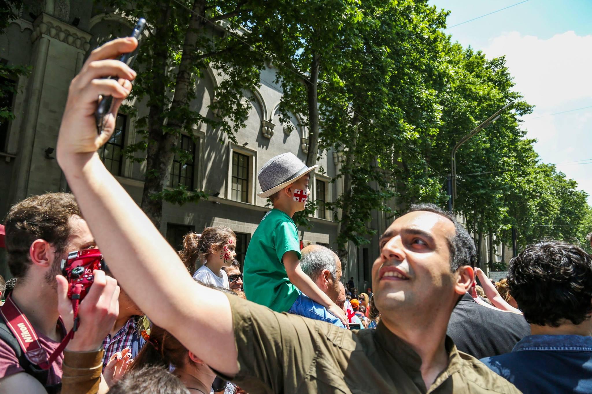 18671798 761143204053955 4219047237925304772 o #новости Грузия, День Независимости, тбилиси