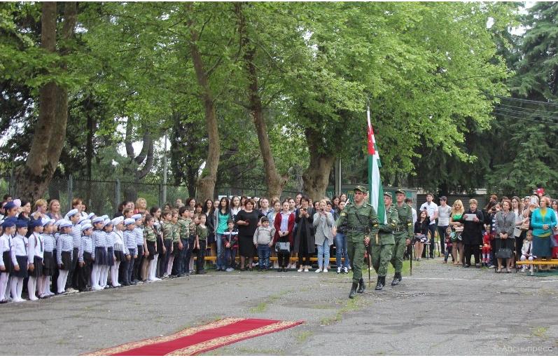 222222222 #новости 9 мая, Абхазия, георгиевская лента, Сухуми