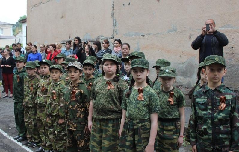 4444444444 #новости 9 мая, Абхазия, георгиевская лента, Сухуми