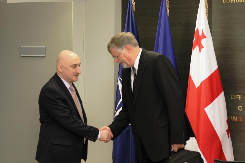 Герберт Залбер: я полностью поддерживаю позицию ЕС по Грузии