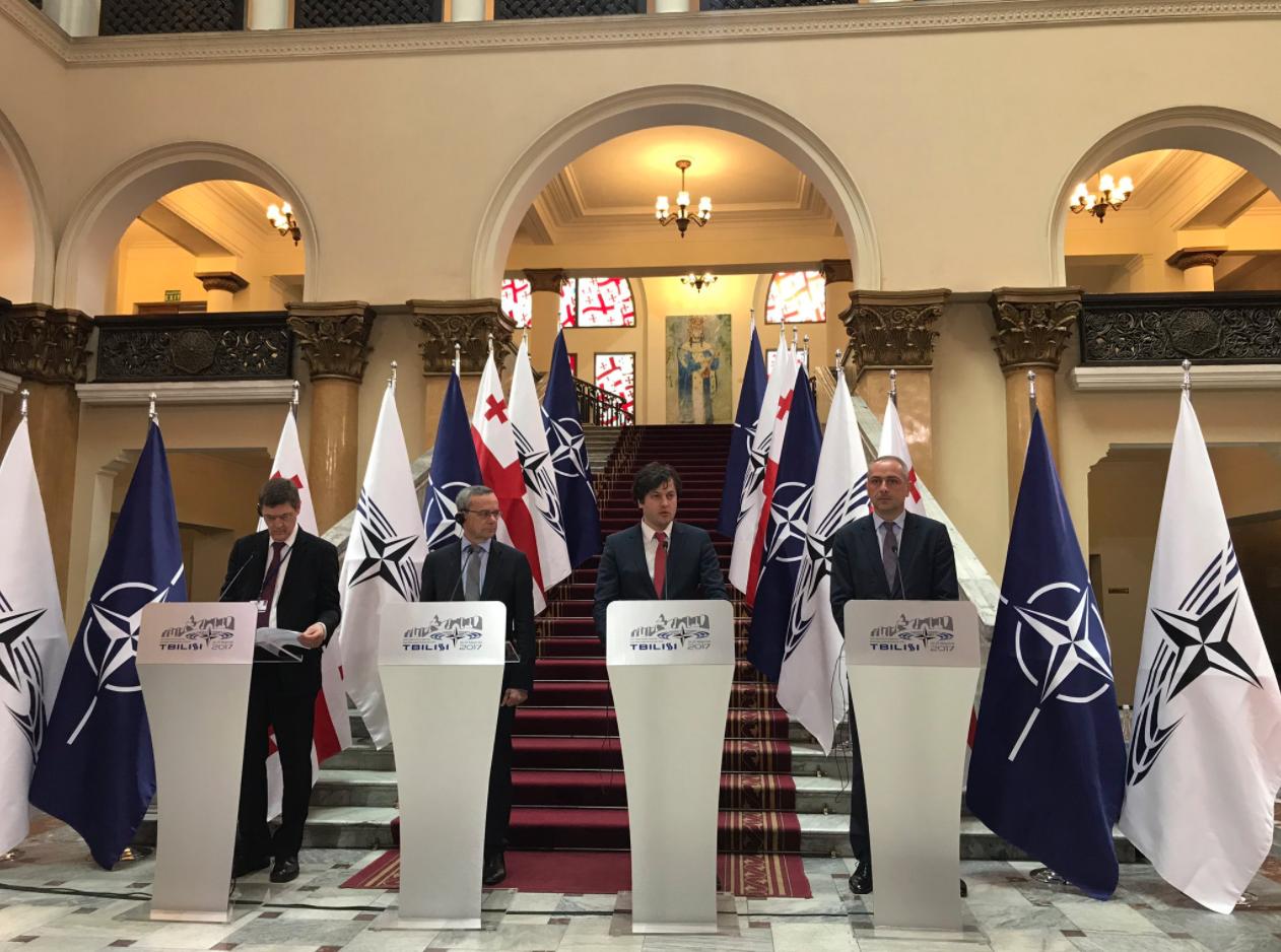 Президент ПА НАТО: защищая целостность Грузии, мы защищаем и наши страны