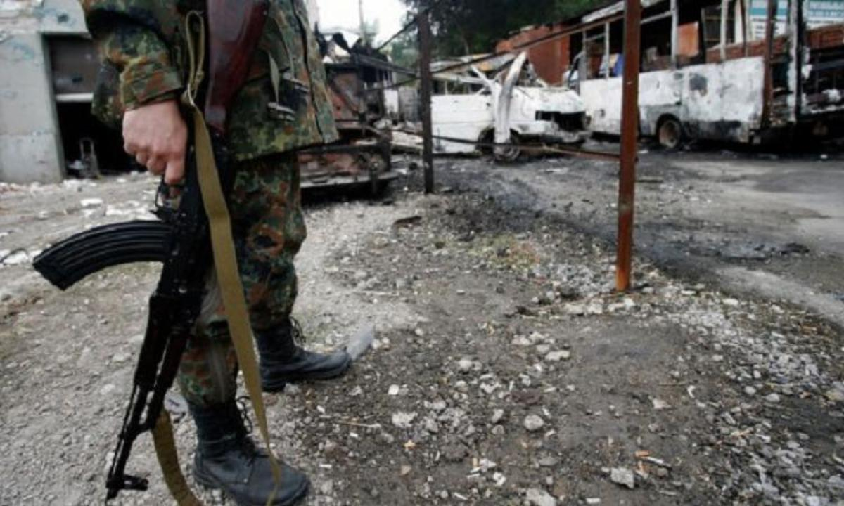 В Украине погиб доброволец из Грузии