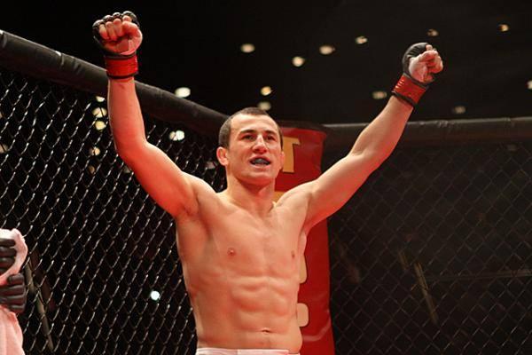 Мераб Двалишвили вошел в лигу UFC