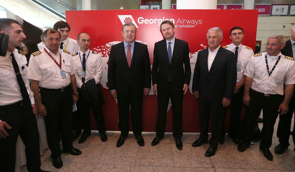 18921152 465669937111369 6481958070168579291 o #новости Georgian Airways, Георгий Квирикашвили, Джастин Маккензи Смит, ес, либерализация визового режима, рейс, Тбилиси-Лондон-Тбилиси