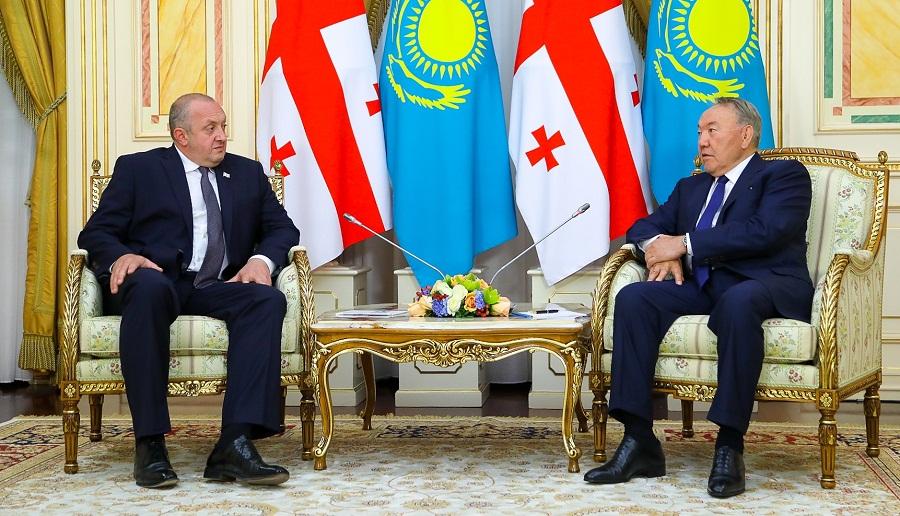 Грузия и Казахстан усиливают работу по развитию транзитного потенциала
